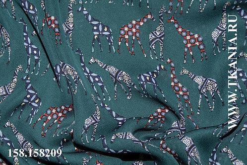 158/158209 Плательно - блузочная ткань  Ширина 146 см Состав 100 %пэ