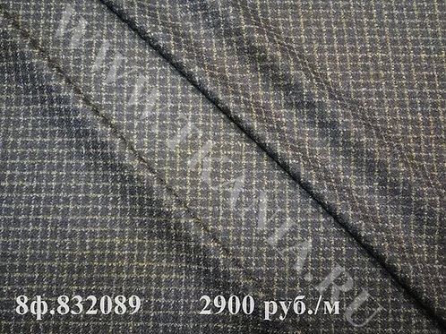 Ткань костюмная 8ф.832089 ширина150 см  5%альп85%шр10%ви Италия
