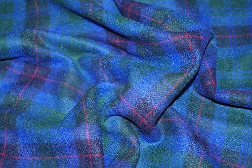 8ш/822028 Шотландка Ширина 150 см 80 % шерсть 20 % акрил