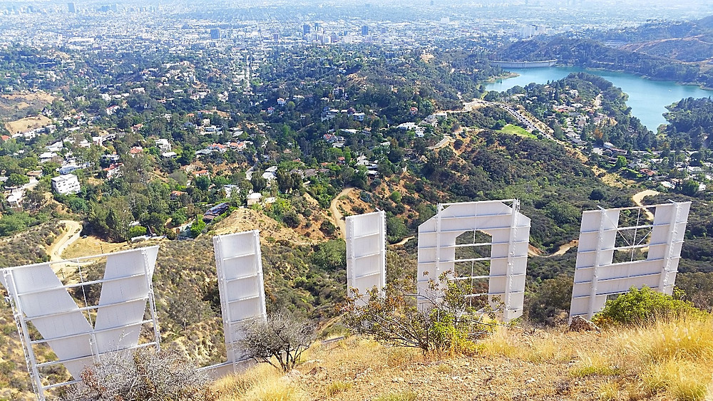 Only Hollywood can give you this view!