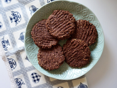 Cacao nutty cookies