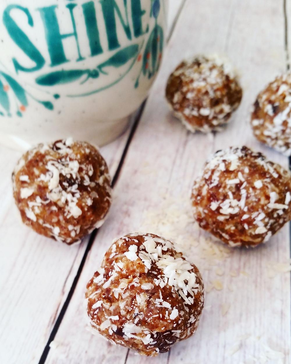 Coconut and Orange Energy Balls