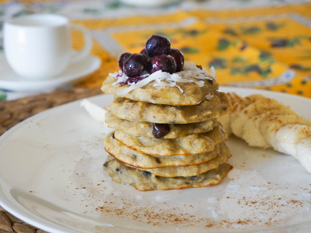 Super easy paleo pancakes