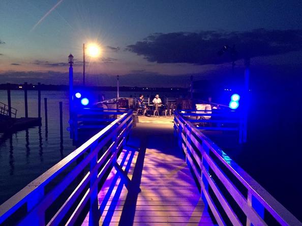 Outdoor dock