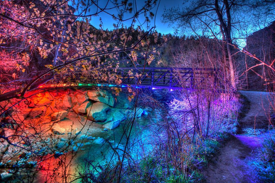 Lightdrop Outside Bridge