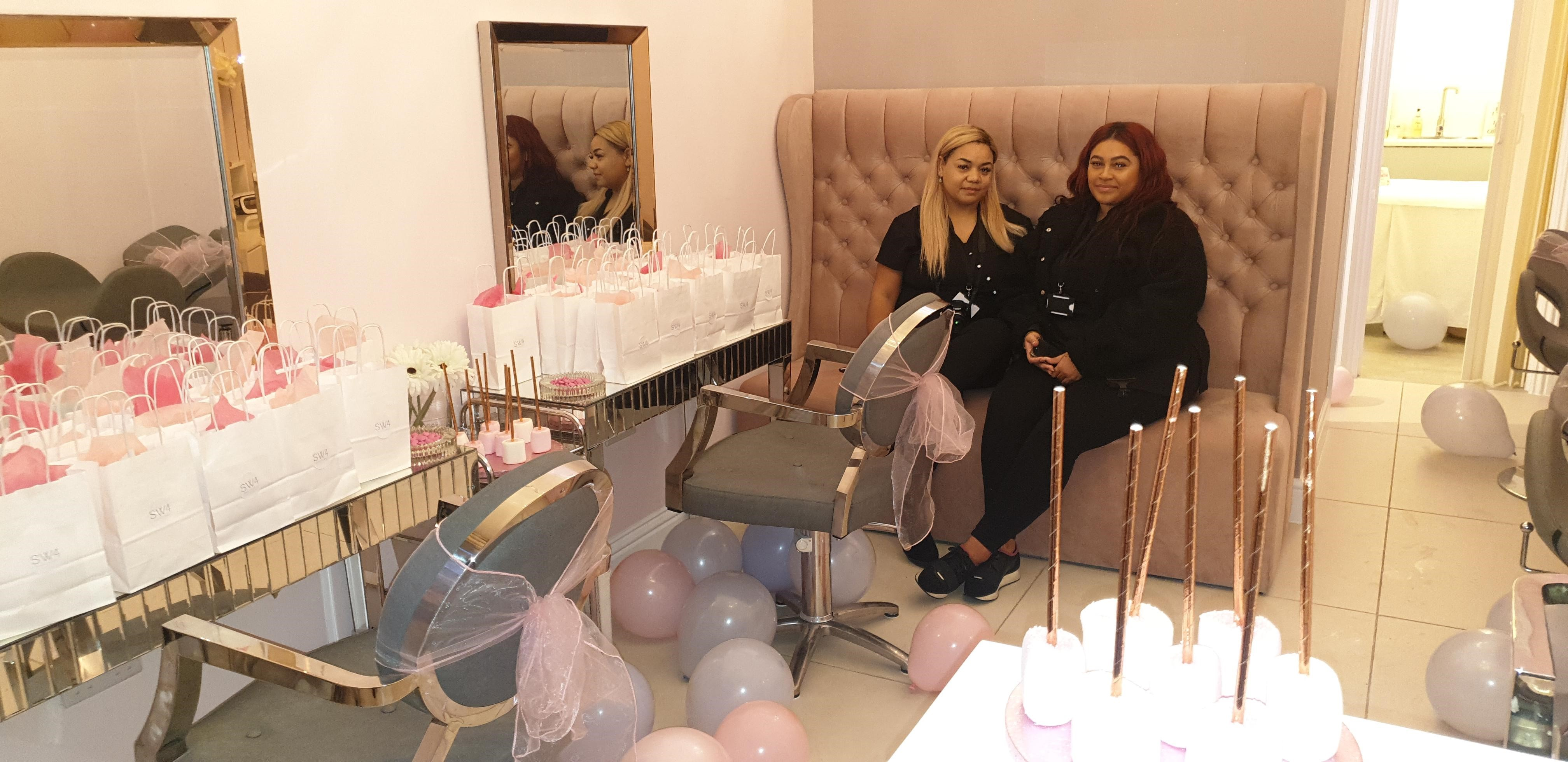 SW4 Beauty Bars Launch Day