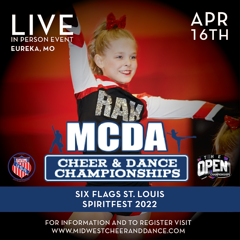 Six Flags St. Louis Cheer and Dance Fest 2022