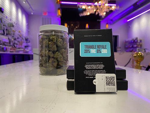 6 Pack Single Strain Pre-Rolls (District Cannabis)