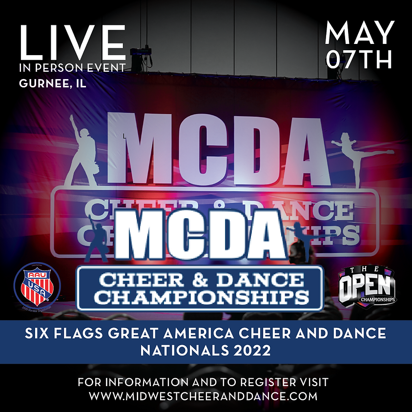 Six Flags Great America Cheer and Dance Nationals 2022