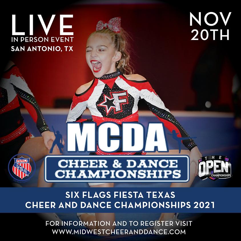 Six Flags Fiesta Texas Cheer and Dance Championships 2021 (2)