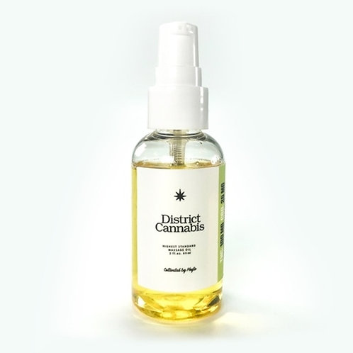 Massage Oil (District Cannabis)