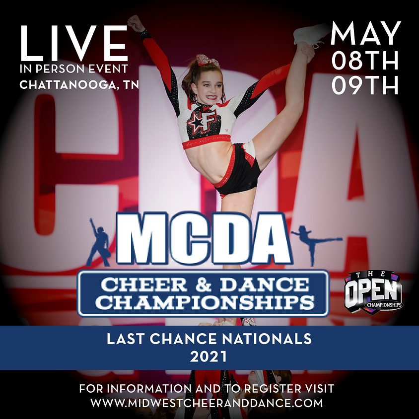 Last Chance Nationals 2 Day May 8-9 Chattanooga 2021
