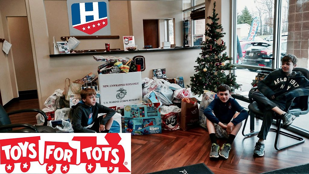 Hillmuth Auto Care Toys for Tots