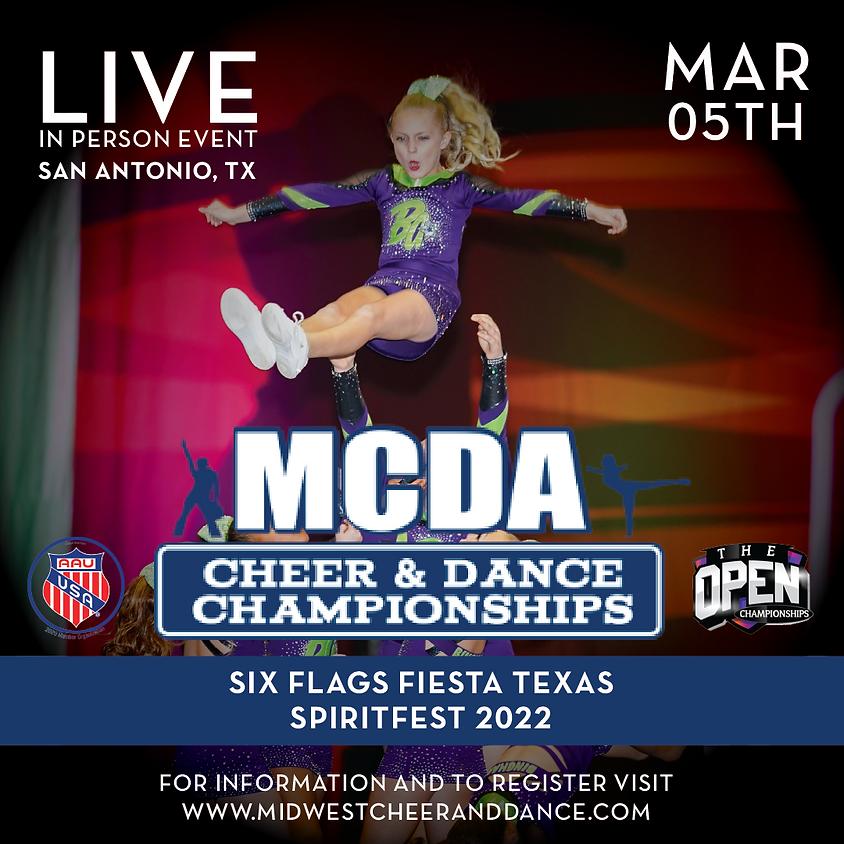 Six Flags Fiesta Texas Cheer and Dance Championships 2022
