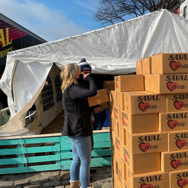 Saval Grocery Box Giveaway