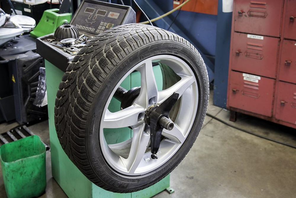 Why does tire pressure change with the weather?