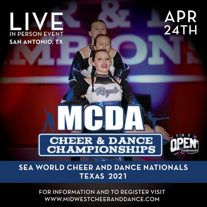 Sea World Cheer and Dance Nationals San Antonio 2021