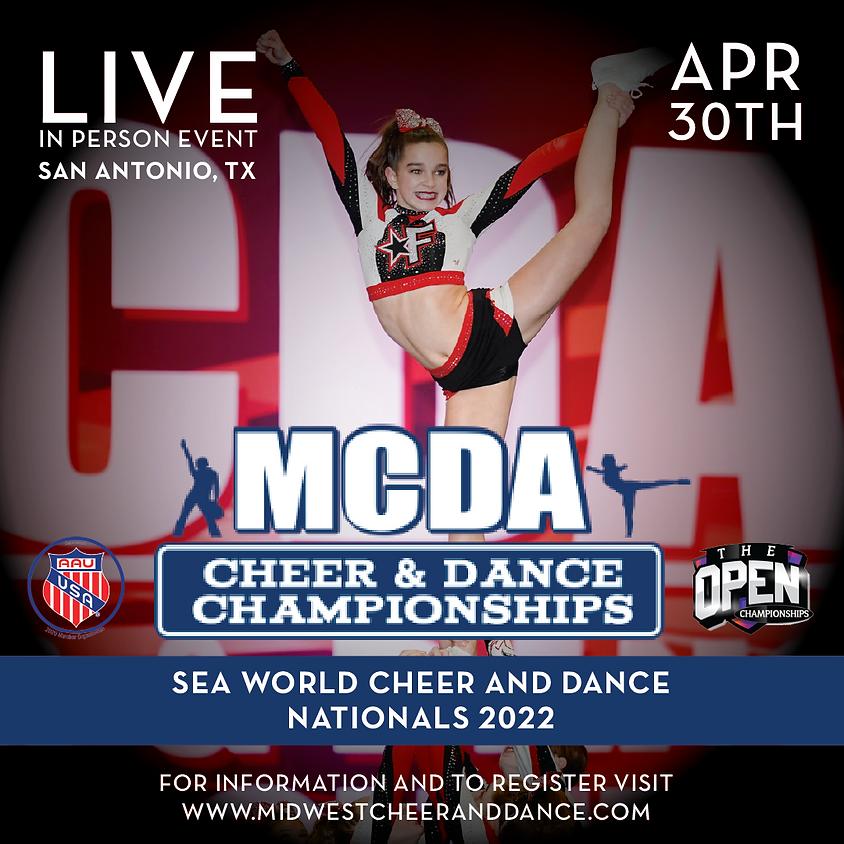 Sea World Cheer and Dance Nationals San Antonio 2022