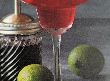 Recipe Card: Hibiscus Margarita