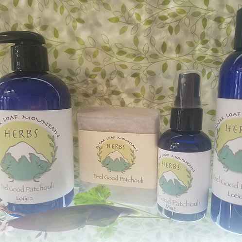 Feel Good Patchouli Skincare