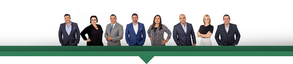 Orlando Diaz and his staff