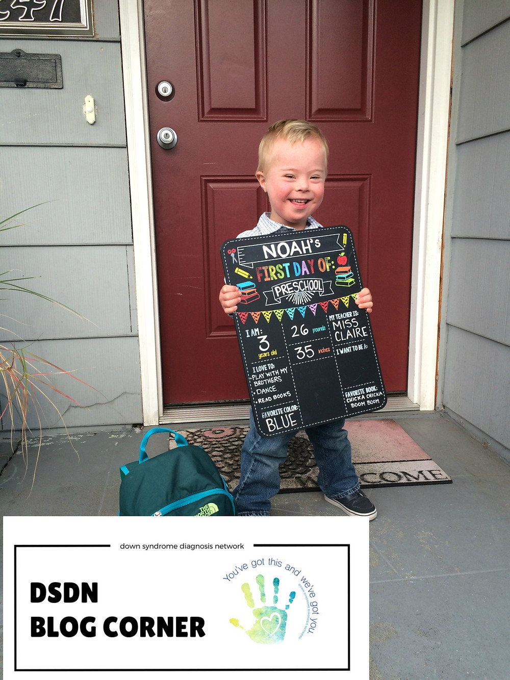 down syndrome preschool