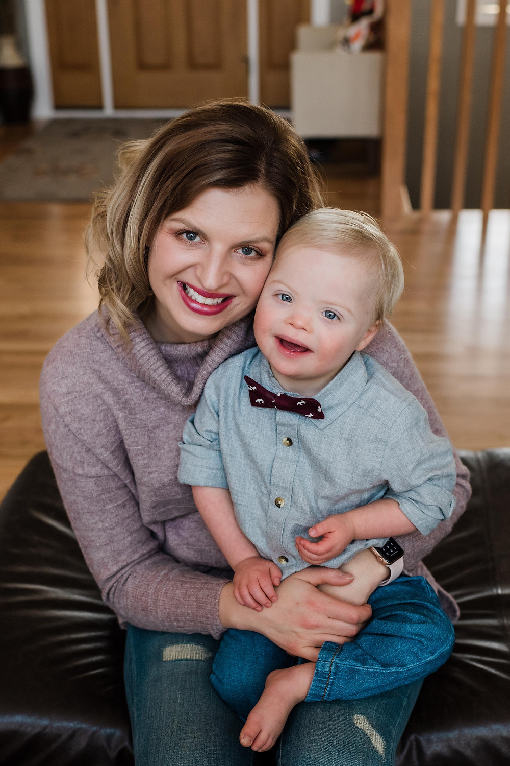 Melissa Shutwell and Augie