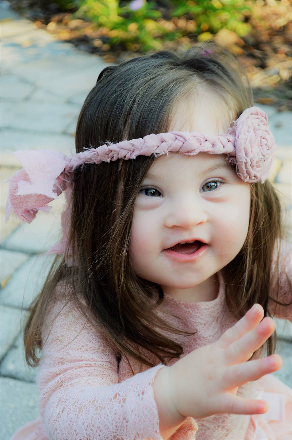 down syndrome girl toddler beautiful doctor diagnosis