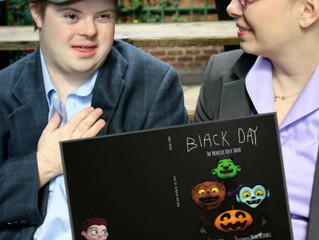 A Down Syndrome Book Worth Reading- Black Day: The Monster Rock Band