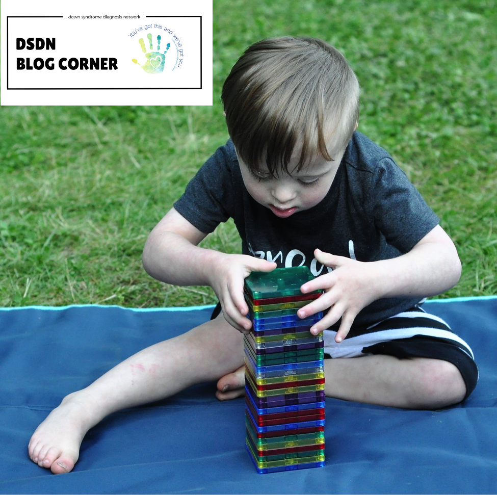 down syndrome early intervention therapy magna tiles