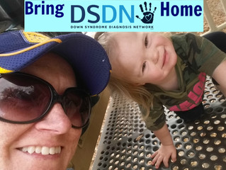 """Bring DSDN Home: """"I felt that families needed to leave an appointment after a diagnosis with so"""