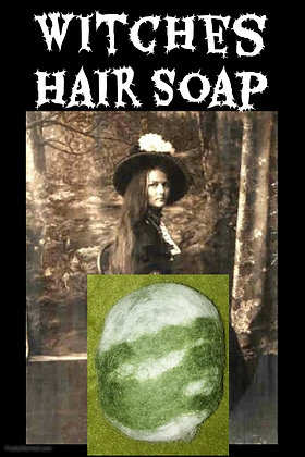 Witches Hair Soap Green