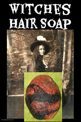 Witches Hair Soap Red