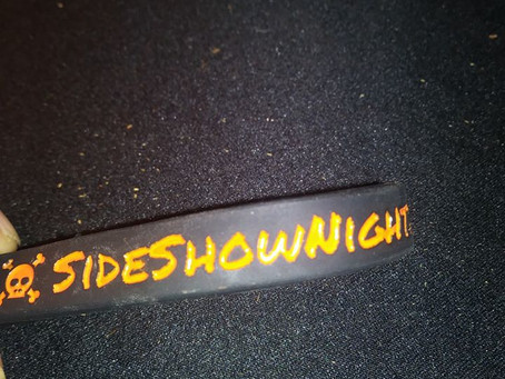 Side Show Nightmares· June 13 ·  Our bracelets arrived