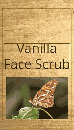 Vanilla Face Scrub