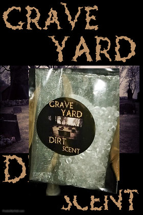 Grave Yard Dirt Scare Scent Bag