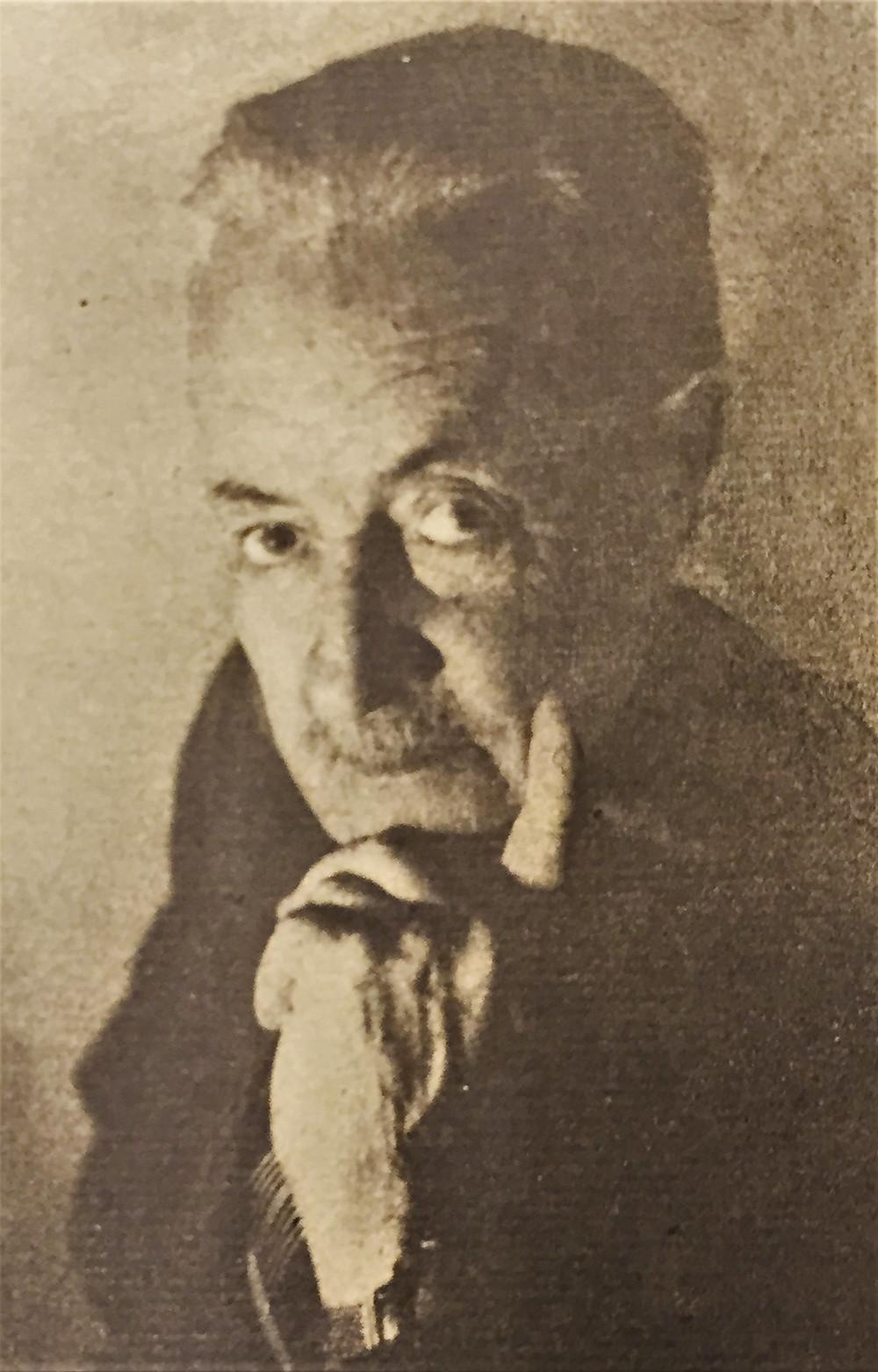R. Moncalvo, ritratto di Domenico Riccardo Peretti Griva, 1950