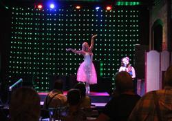 Ballet Dancer with Singer