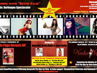 """An Evening With """"Bettie Page"""" December 6th"""