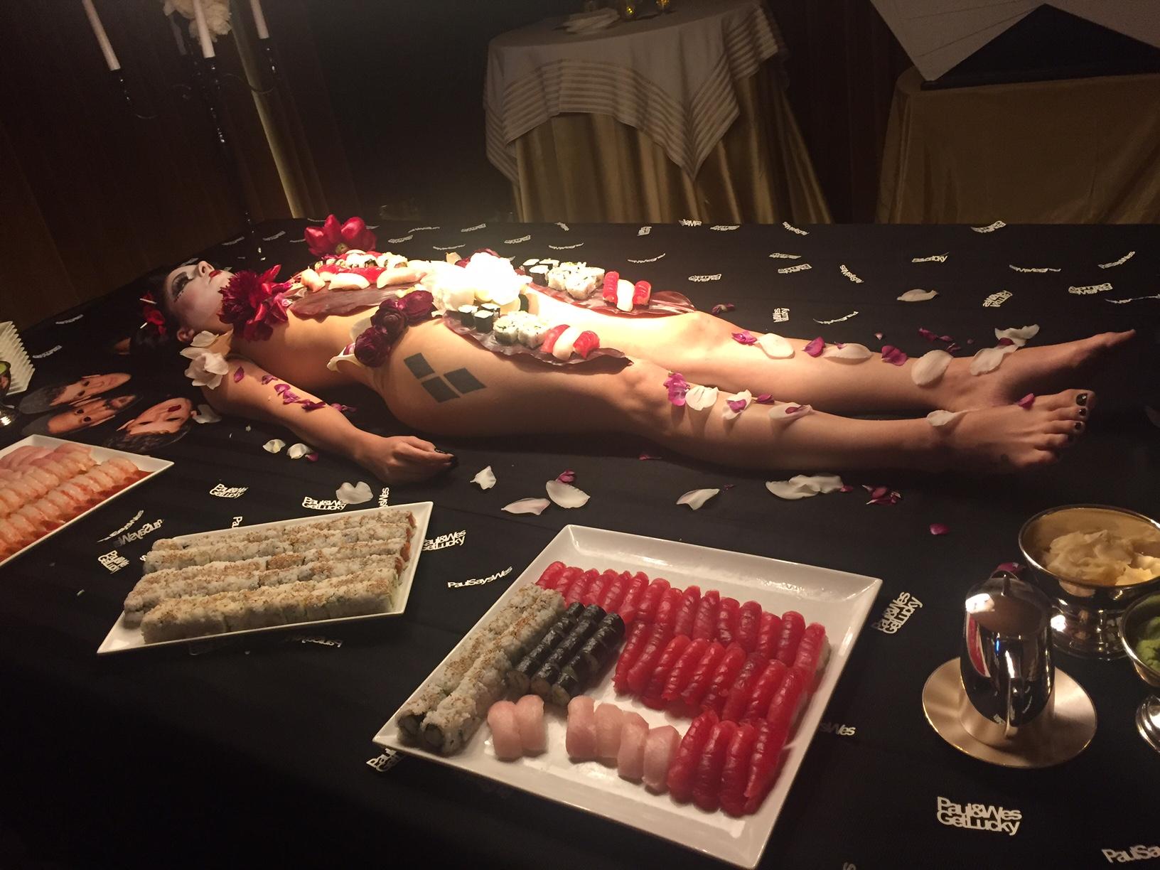 Nude Sushi Gal