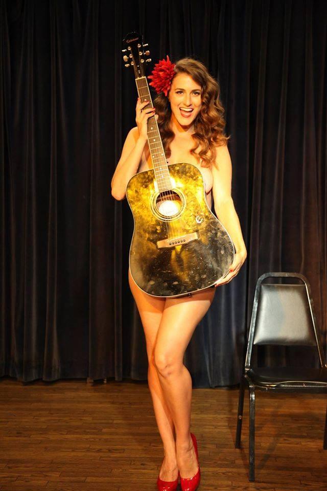 Girl Behind Guitar