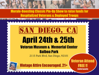 Pin-Ups are coming to San Diego!