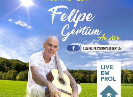 Live Canções que tocam o coração - Felipe Gertum