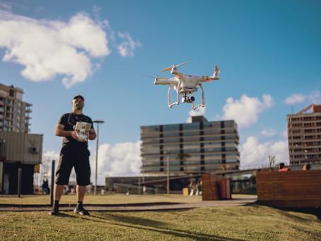 Primeiro encontro de drones Parque Una & Fly Camera.