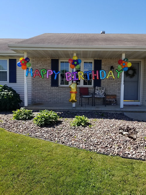 Happy Birthday Garden