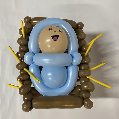 BabyJesus in a Manger