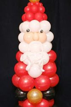 Balloon Figure Made of rounds