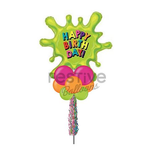 Splat! Happy Birthday Party Pole