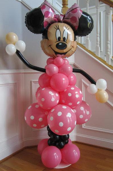 6' Balloon Minnie