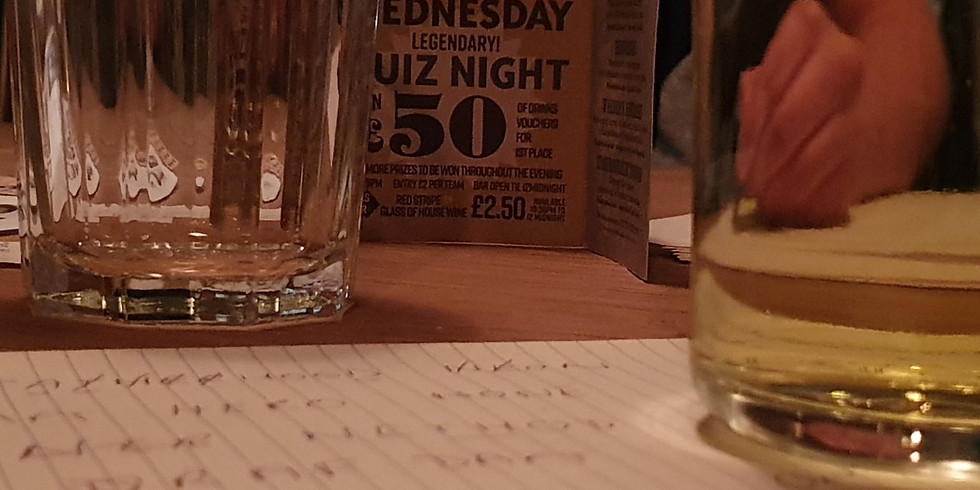 Quiz Night at the Bless #8